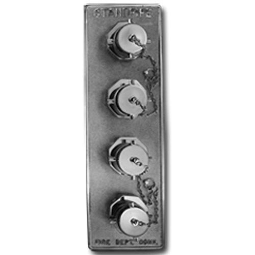 Elkhart Brass flush 4-way Outlet