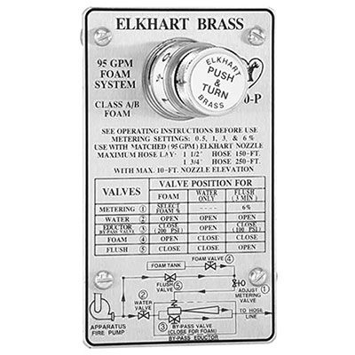 Elkhart Brass built-in foam eductors