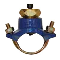 Saddle Clamp from Elkhart Brass